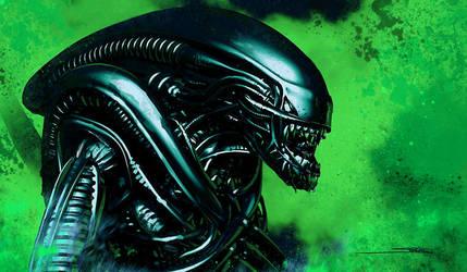 Alien by artofsw