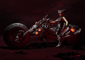 Demon Speeder by artofsw