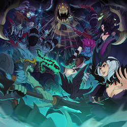 LEAGUE OF LEGENDS - HEXAKILL: Twisted Treeline by ffSade