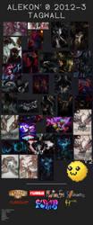 2012-2013 Tagwall by alekon
