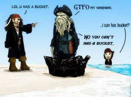 LOL BUCKET by terriblenerd