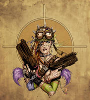 Tank Girl Colored by alexasrosa