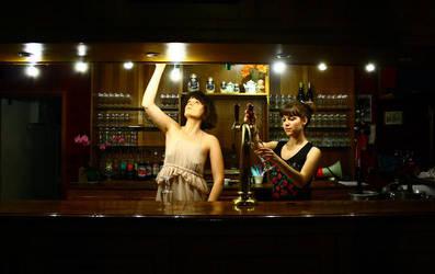 le bar. by moumine