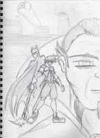 Kingdom Hearts-Gotham City by echelonangel15