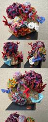 Double Octopus's Garden by flufdrax