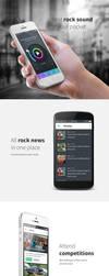 Radio application concept by jurajmolnar