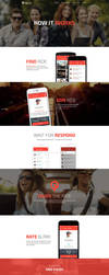 Trip buddy - landing page for web application by jurajmolnar