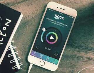 RockBeast radio application free download by jurajmolnar
