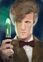 Eleventh Doctor / Doctor Who by MaartenvanMeer