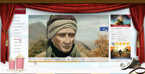 cinebox video page by MRTKLC