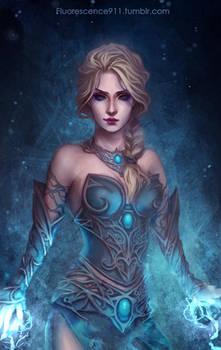 Elsa by Fluorescence911