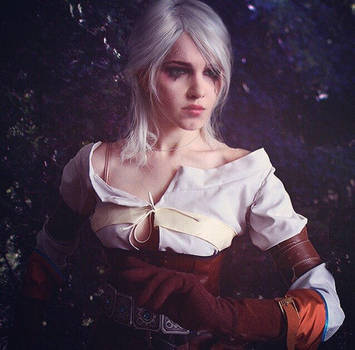 Ciri - the Witcher by Fluorescence911