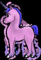 Unicorn Foal by MiaSidewinder