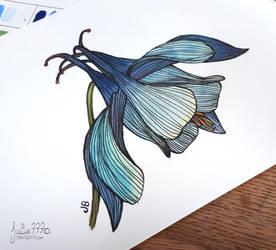[Watercolor flowers] by Julie7770