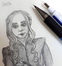 [Game of Thrones] Daenerys by Julie7770
