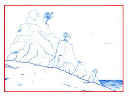 Rocky Beach by Kaliptus