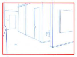 Hallway Background by Kaliptus