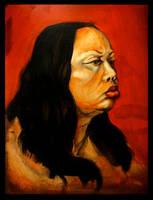 Portrait of a Mistress by Kaliptus