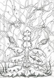 Plantae Divinorium by Kaliptus