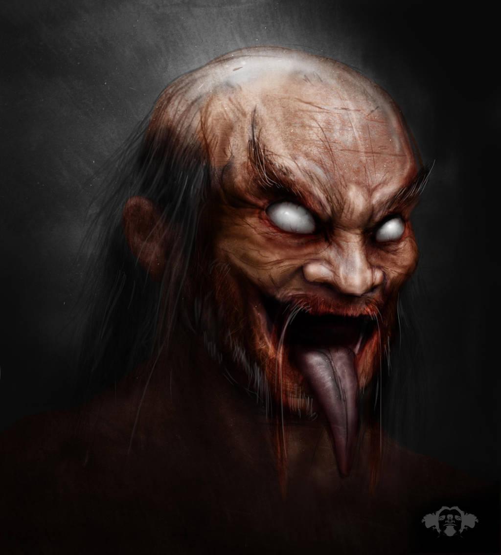 Devil Monk by Kaliptus