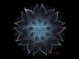 Crystal Flower by Arialgr
