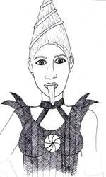 Vlad sketch by Loreolei
