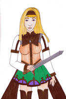 Alicia  from Valkyrie profile by Loreolei