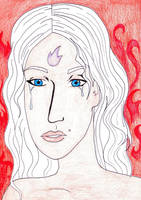 Amalthea - the last unicorn by Loreolei