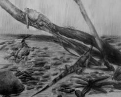 Resting iguanas by IrinaAsphodel