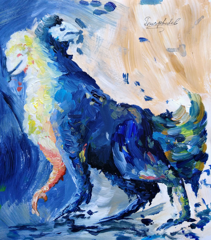 Bipolar creature by IrinaAsphodel