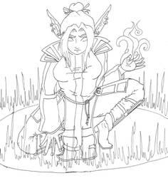 Tammapanda - Elf Magic Circle by Sith-Witch