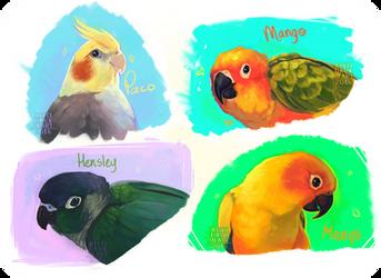 Birds! by AntiDarkHeart
