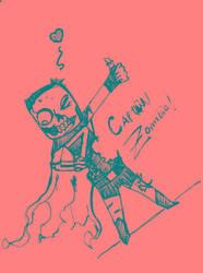 Capitan Zombie by ArnaT