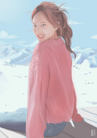 Na Yeon Twice by greenXgolden