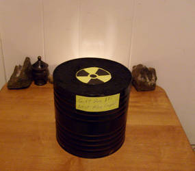Radioactive Tritium Gift Box by caspercrafts