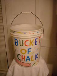 Bucket For Chalk by caspercrafts