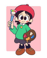 Adeleine (Kirby 64) by LittleMuff