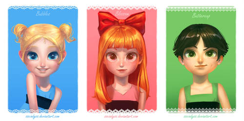 Perfect Little Girls by sscindyss