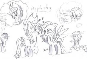 AppleShy by CradeElcin