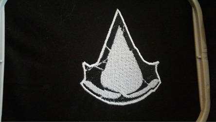 Assassin's Creed: Rogue Logo Patch by lokiie1984
