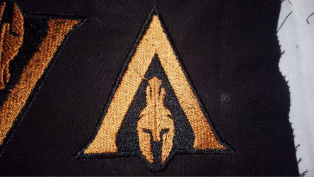 Assassin's Creed: Odyssey Logo Patch by lokiie1984