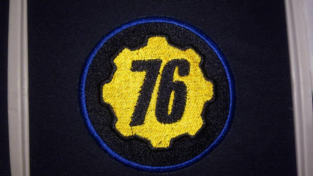 Fallout 76 Logo Patch by lokiie1984