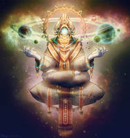 The Goddess of Coexistence by Astral-Requin