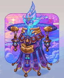 Sonaglio - The Guardian of Overcoming by Astral-Requin