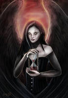 The Angel of Death by CLB-Raveneye