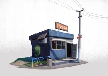 Kiosk by sashafranz