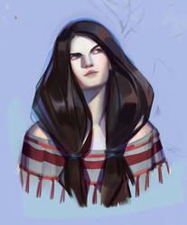 pale girl by sashafranz
