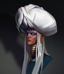 Witchy grandma by sashafranz