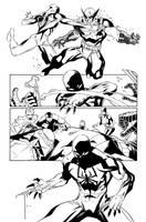 Scarlet Spider #17 p.20 by WaldenWong