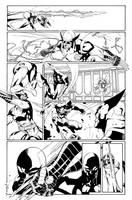 Scarlet Spider #17 p.19 by WaldenWong